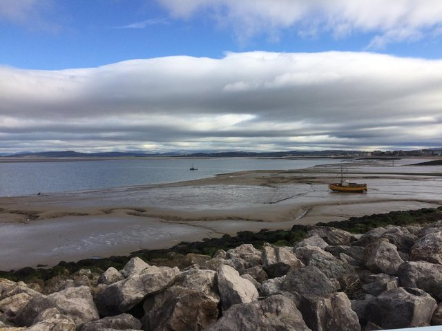 Morecambe Bay. Picture by Janette Wright