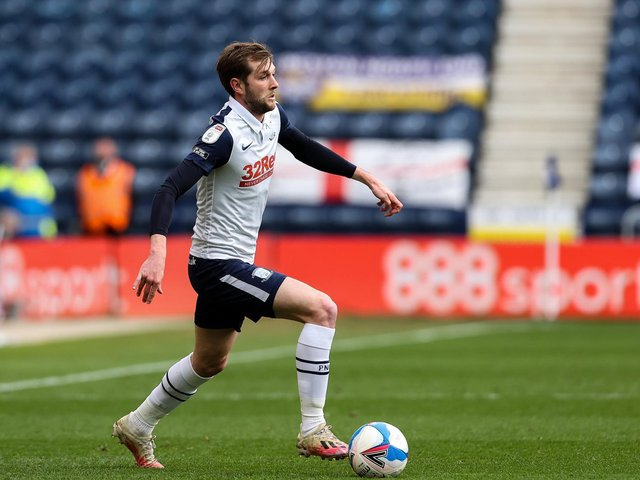 Tom Barkhuizen returns to the Preston North End side against Barnsley at Deepdale