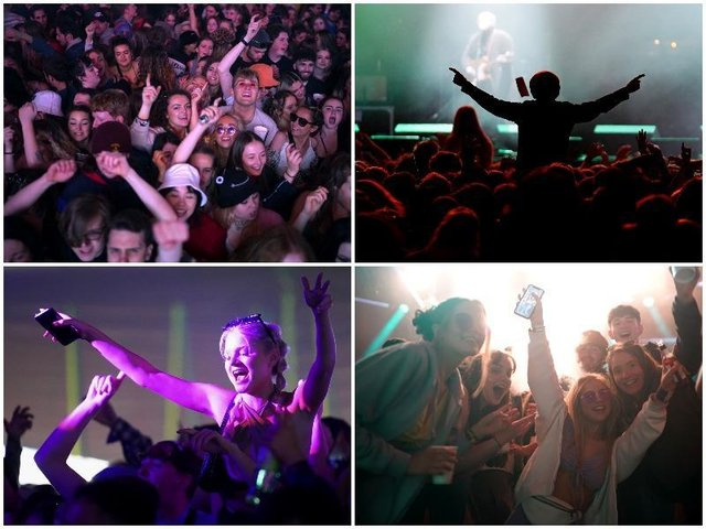 These were the scenes as 5,000 revellers packed Sefton Park to party at pilot music festival