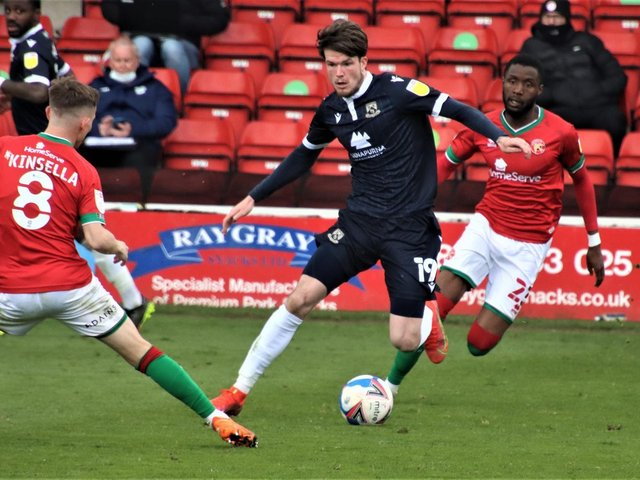 Liam McAlinden was one of the players handed a start at Walsall last weekend