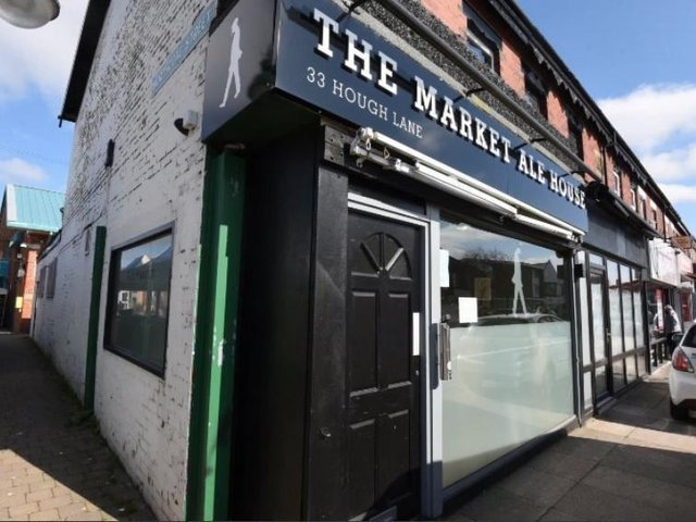 The Market Ale House on Hough Lane in Leyland plans to expand into a disused bakers next door