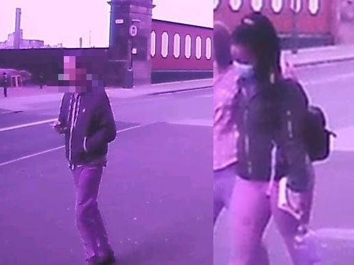"""Detectives want to speak to this woman (right) who they believe might be """"hold key information"""" that could assist a Preston rape investigation. Pic: Lancashire Police"""