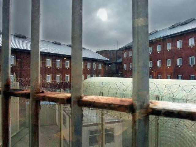 Drop in number of inmates at Preston prison during pandemic