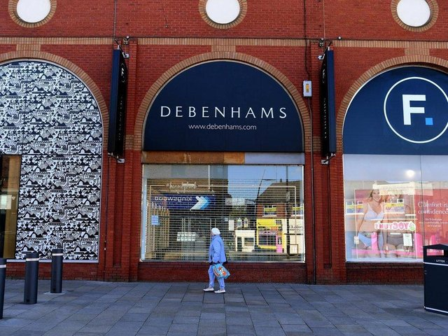 The Preston Debenhams store inside the Fishergate Centre store will close permanently on Wednesday, May 12