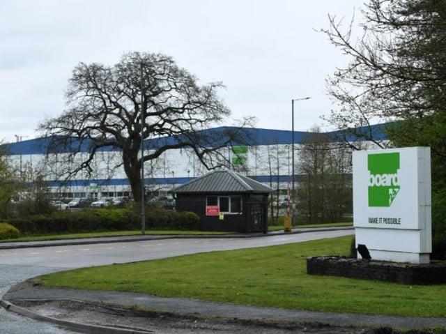 The Board 24 factory on Longridge Road, Ribbleton.