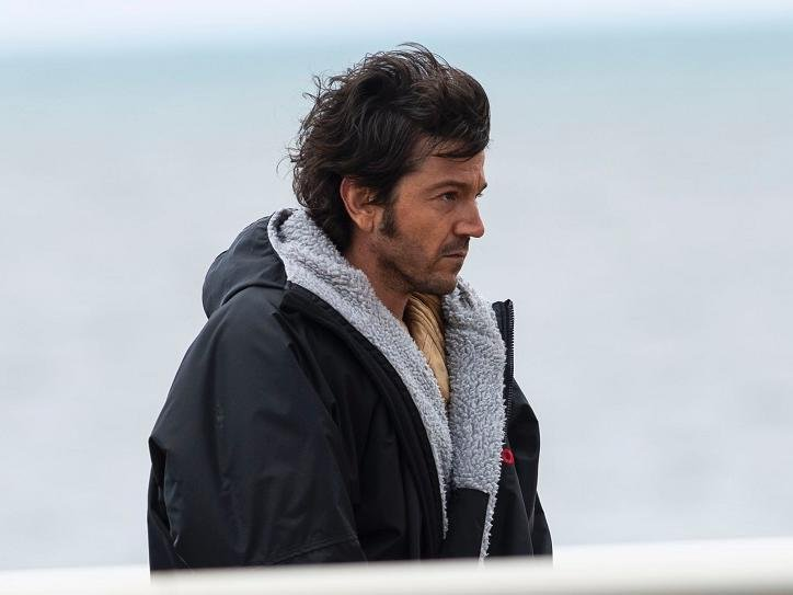 Diego Luna, is reprising his role as leading man Cassian Andor and was filming on Cleveleys beach this week for new 12-part Disney+ series Andor, a prequel to the hit movie Rogue One.
