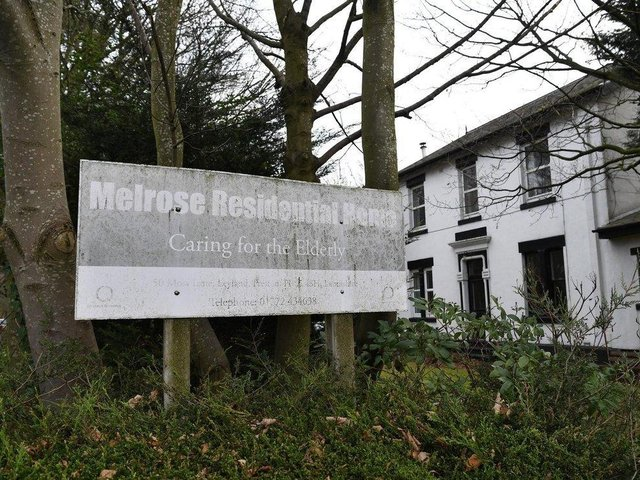 Melrose Residental Home in Moss Lane, Leyland