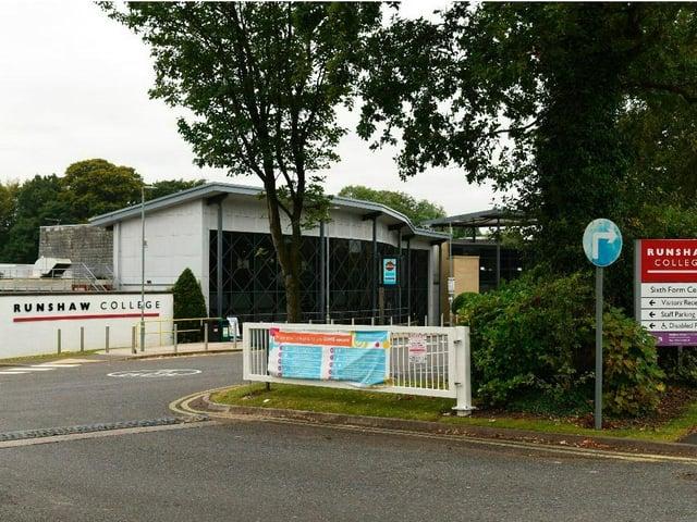 Runshaw College in Leyland