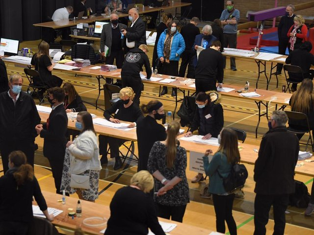 Less than 40 percent of eligible voters in Chorley voted on May 6