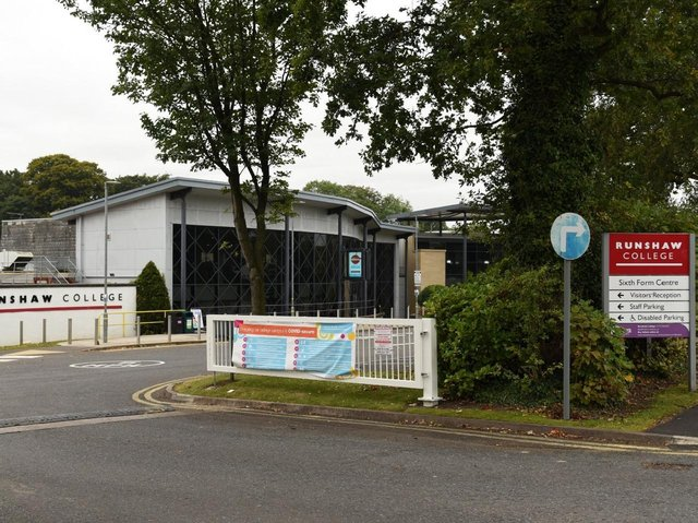 """More than 30 students have reportedly tested positive at the college in Leyland, prompting Public Health England (PHE) to request that the campus be closed to """"limit the spread of the outbreak"""""""
