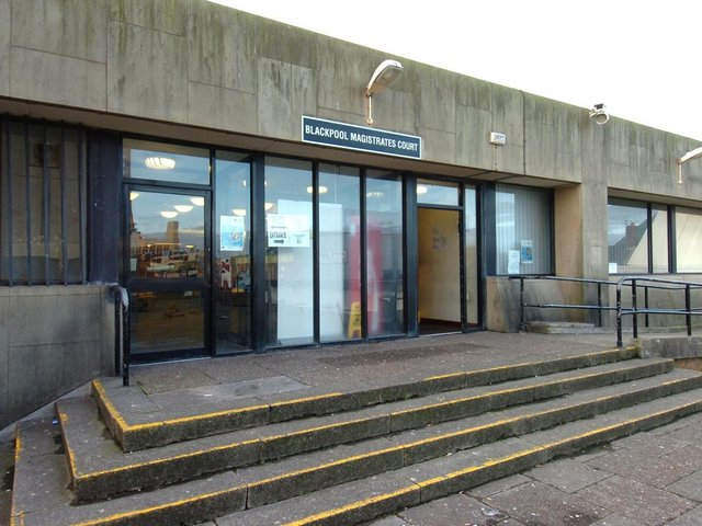 Two men from Morecambe are due to appear at Blackpool Magistrates charged with affray and threats with a bladed article.