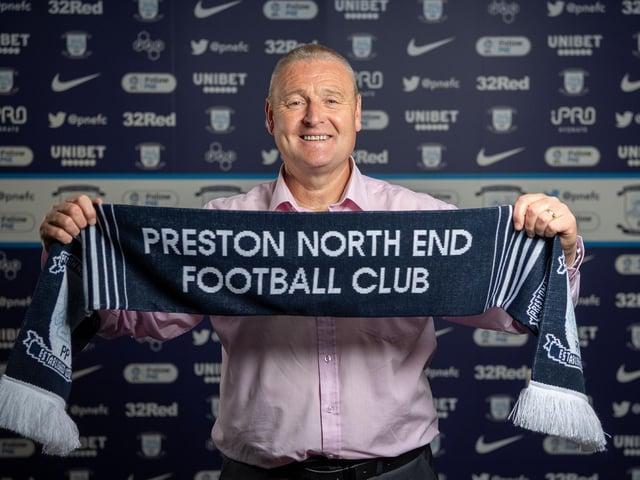 New Preston head coach Frankie McAvoy (photo courtesy of PNE FC)