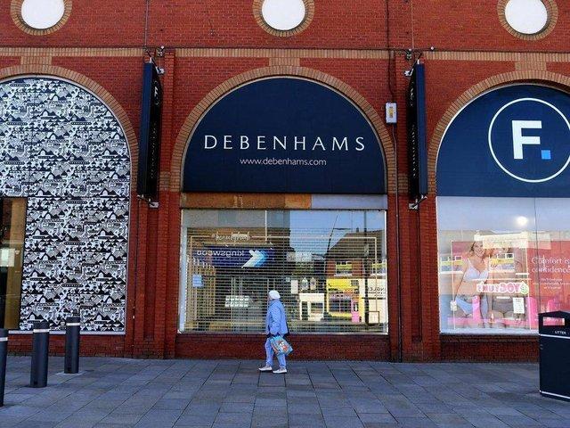 Debenhams opened in Preston in the mid-1980s