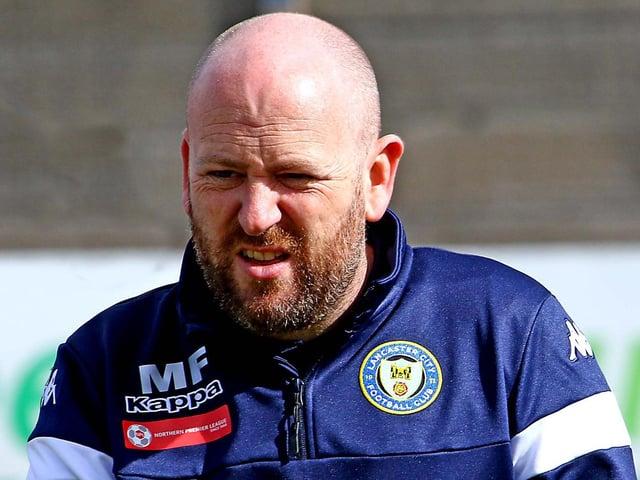 Lancaster City boss Mark Fell (photo: Tony North)
