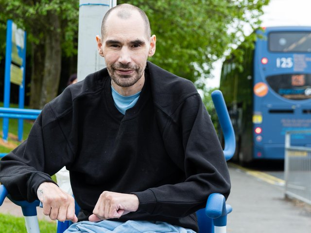 Rory Dixon, 38, recovering from being stabbed