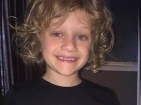 Football fan Jordan was struck by lightning when playing a one-to-one session yesterday in Blackpool