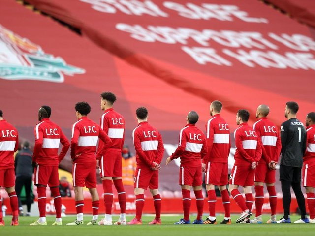 Liverpool FC were among the many clubs to pay tribute on social media