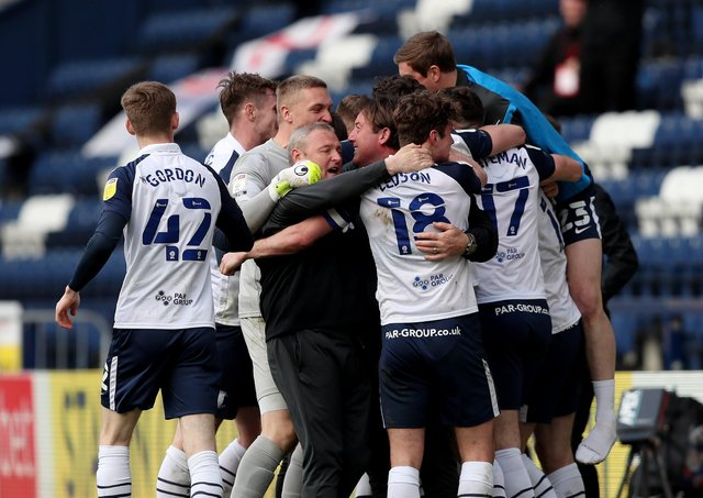 PNE were jubilant after Brad Potts' goal rescued a point against Norwich