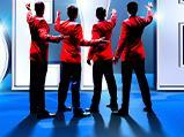 Jersey Boys at Blackpool Opera House in 2022
