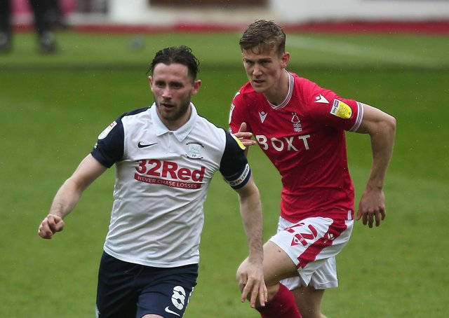 Alan Browne in action against Nottingham Forest last weekend