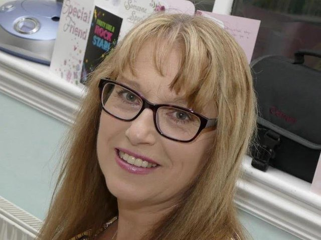 Carolyn Cross has been raising the profile of, and money for, Cancer Research UK