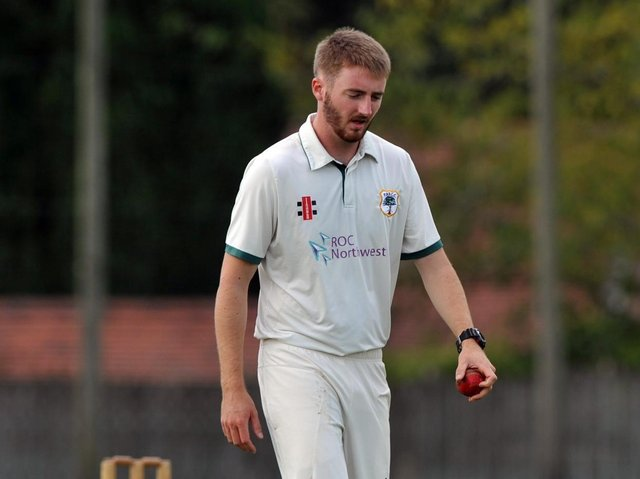 F&B bowler Jon Fenton is considered one of the best opening bowlers in the Northern league