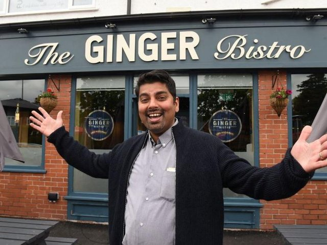 Soji Joseph, General Manager of the Ginger Bistro, Garstang Road, was among those who are this weekend preparing to reopen their doors.