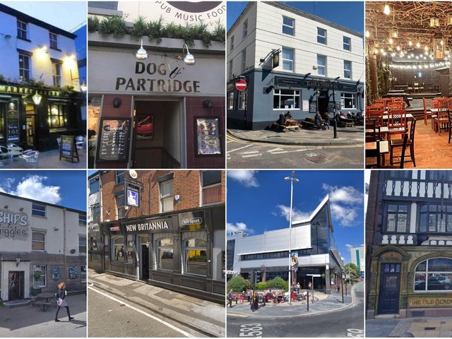 These ate the pubs and bars in Preston that will open INDOORS from Monday
