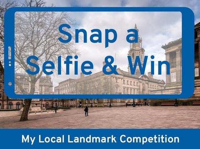Snap a selfie with your favourite Lancashire landmark