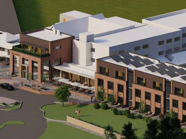 How the hotel will look if the extension gets the go-ahead (Image: Constructive Thinking Studio).