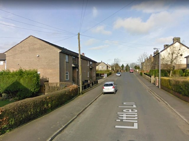 Two men reportedly tried to lure a 12-year-old boy into a black 'SUV'-type vehicle after pulling up beside him in Little Lane, Longridge at around 4.20pm on Thursday, May 6. Pic: Google