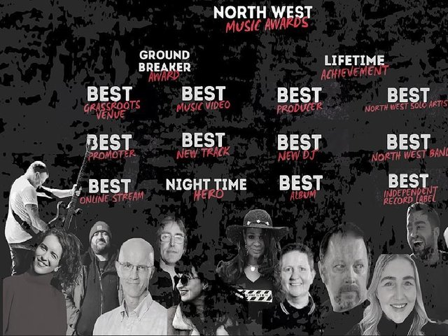 The North West Music Awards 2021 will take place at 7.30pm on Wednesday, May 19 and can be streamed for free online