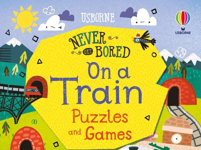 Never Get Bored on a Train Puzzles & Games