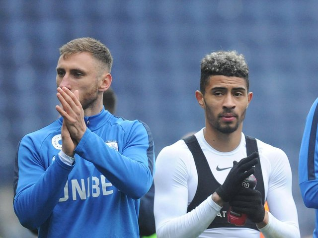 Louis Moult and Josh Ginnelly have been released by Preston North End