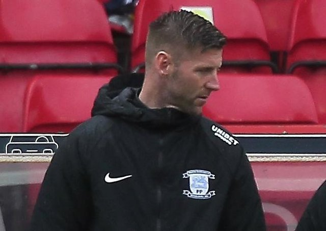 Paul Gallagher after North End's final game of the season at Nottingham Forest