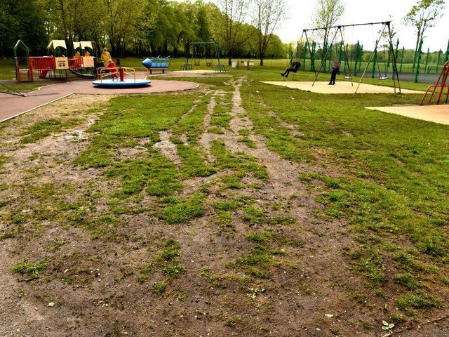 The Council spent £44k on works to the park recently