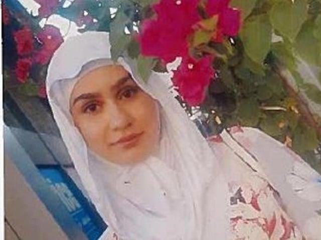 Student Aya Hachem