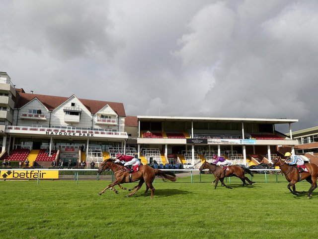 Haydock Park will welcome back racegoers for the first time in 2021 on Friday afternoon
