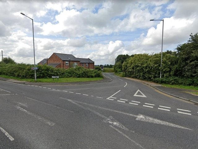 A motorcyclist was rushed to hospital after being hit by a car in St Helens Road at the junction with Scarth Hill Lane. (Credit: Google)