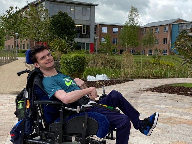 21-year-old Oliver Moores, from Chorley, is calling for more representation for disabled people and has worked continuously as a 'role model' for young disabled people.