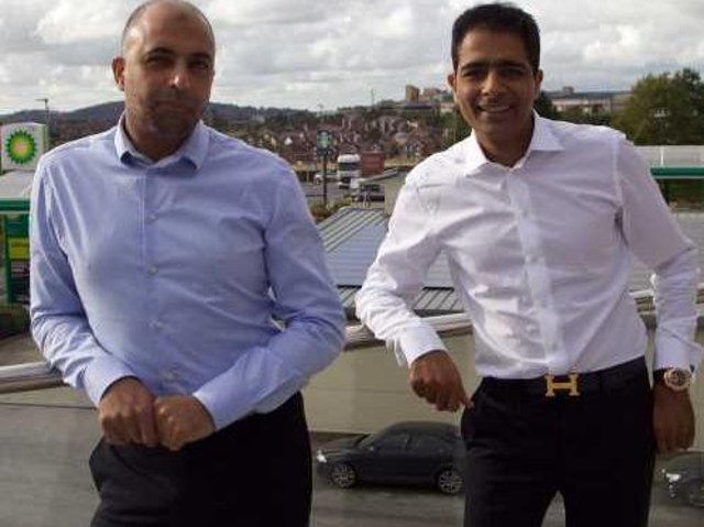 Zuber and Mohsin Issa of the EG Group