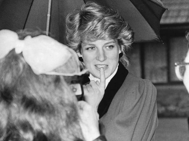 Princess Diana visits Preston in April 1987