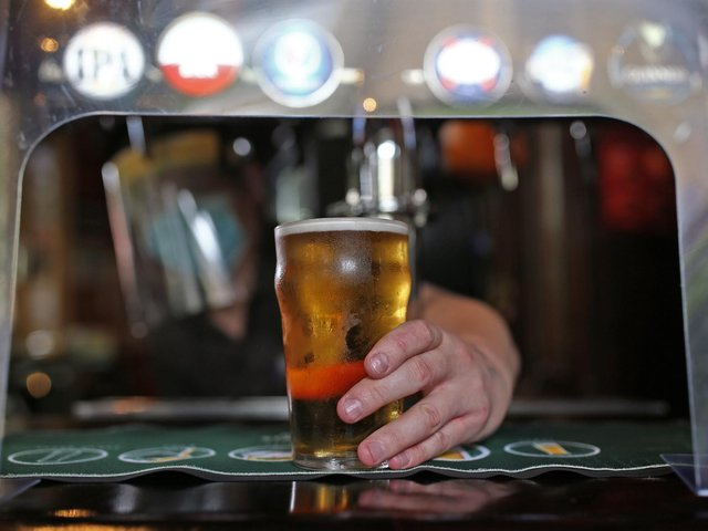 Preston pub-goers drank up to 147 pints per minute on Monday