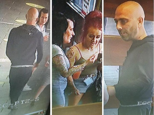 Police want to speak to four people captured on CCTV at Preston Bus Station following an incident of criminal damage to a vehicle in Walton-le-Dale on Friday, April 23. Pic: Lancashire Police