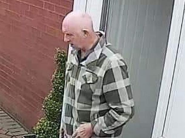 Mr Harrison was last seen in the Turton area, north of Bolton, at around 10.30am on Sunday (May 23). He is described as 6ft tall, bald and of a slim build. Pic: Lancashire Police