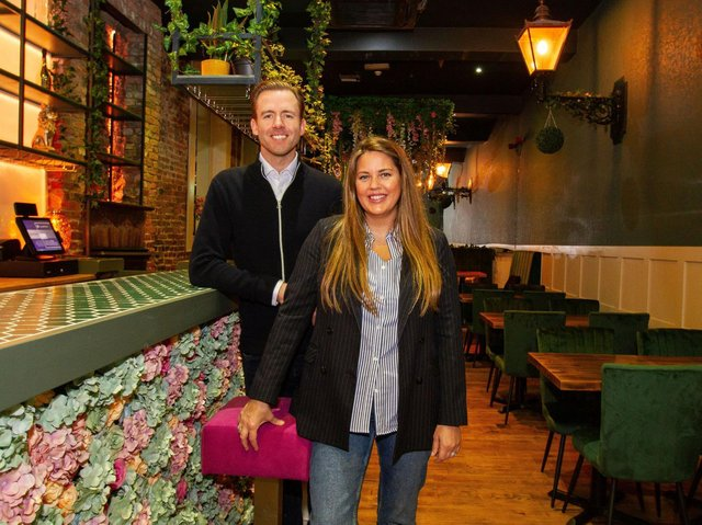 Husband and wife owners Andrew and Naomi are gearing up to open this weekend