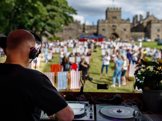 The music and dance performance will take place on the lawns of Hoghton Tower