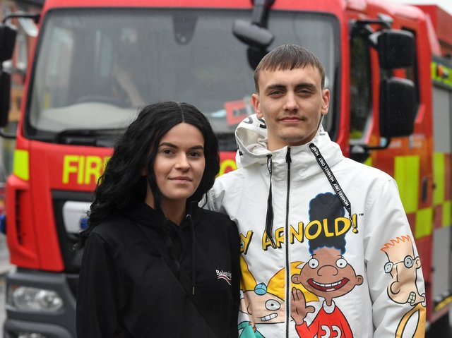 Prime Minister Boris Johnson has thanked the four Leyland fire heroes whose quick-thinking and selfless bravery is believed to have saved the lives of those who were asleep inside their Towngate flats when a huge fire broke out shortly after midnight last Thursday (May 20)