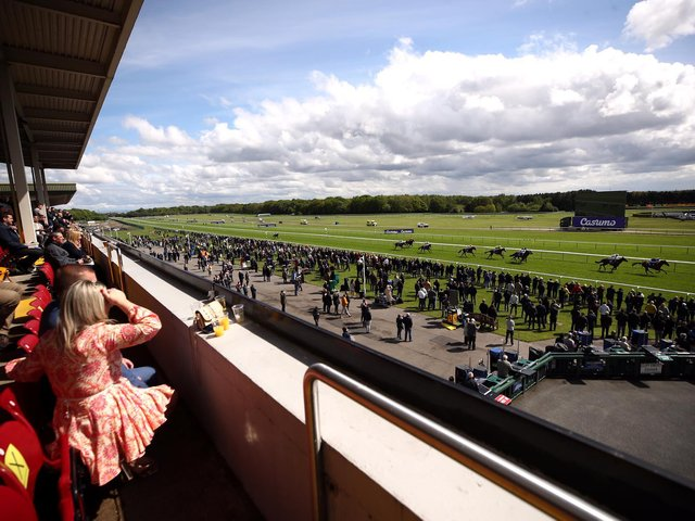 Haydock Park stages the second of three consecutive days of action at the venue on Friday evening.