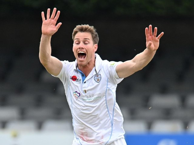 Derbyshire all-rounder Luis Reece (photo:GettyImages)